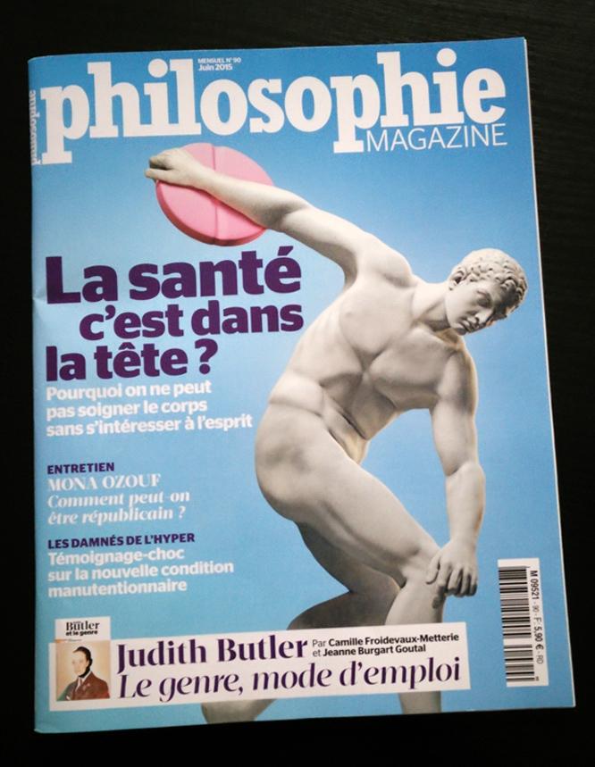 Myron Philosophie Magazine